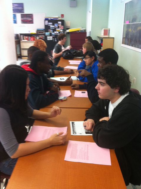 History speed dating activity